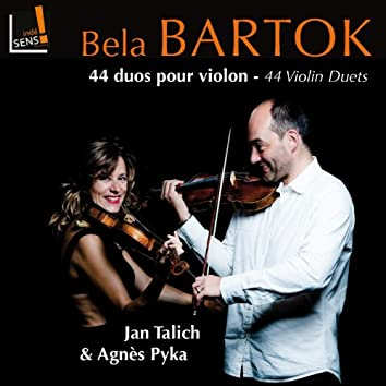 Bartok: 44 duos pour violon, Sz. 98 (44 Violin Duets)