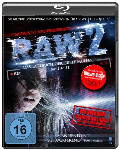 RAW 2 - Das Tagebuch der Grete Müller (Uncut) [Blu-ray]