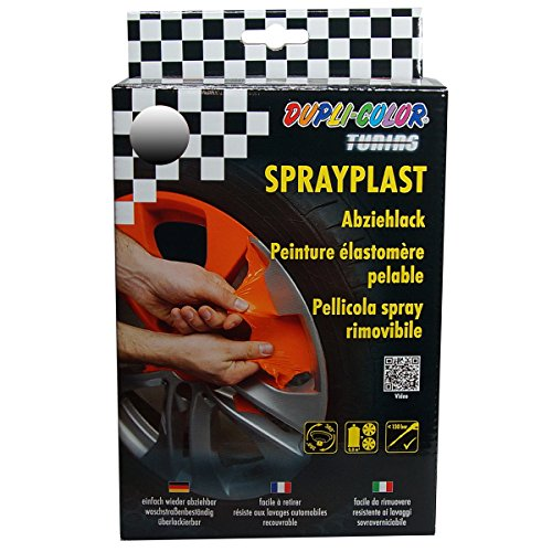 Dupli Color 388132 DC Sprayplast-Set, 2 x 400 ml, Carbon Glanz