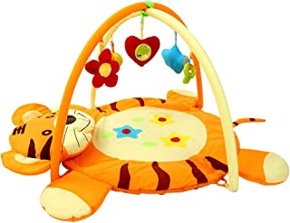 Z Baby Play Mat, 1 Baby Exercise Frame Play Mat Baby, Cartoon Tiger Shape Play Mat For Baby for Bedroom Living Room Games ...