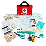 First Aid Kit -309 Pieces- Reflective Bag Design -...