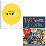 Ottolenghi SIMPLE [Hardcover] & Tasty & Healthy F*ck That's Delicious 2 Books Collection Set