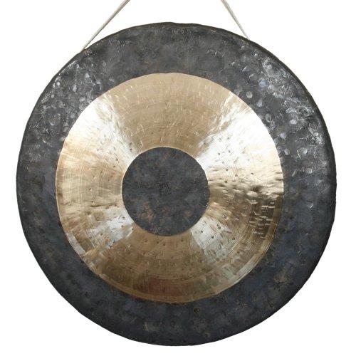 Klangschalen-Center Tamtam Gong/Whood Chau Gong 60 cm, inklusiv Holz-/ Baumwollklöppel -7023-L-