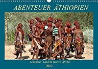 Abenteuer Aethiopien (Wandkalender 2022 DIN A3 quer): Landschaften, Tiere, Menschen und antike Bauwerke aus Aethiopien (Geburtstagskalender, 14 Seiten )