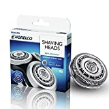 SH90 Replacement Blades for Philips Norelco Series 9000 Shavers,Compatible with Series 8000,Star Wars Shaver SW9700 and SW6700,Pack of 3