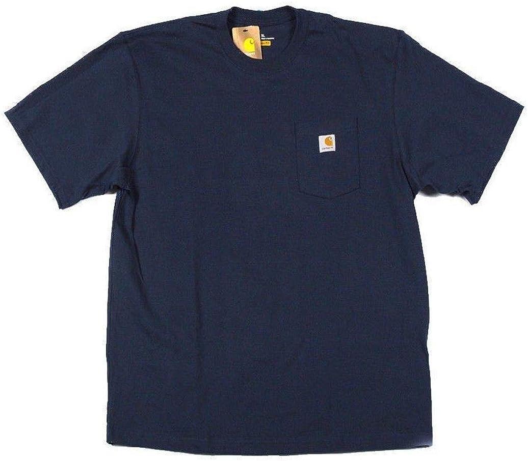 Carhartt Men's Workwear Pocket T-Shirt Blue 4XL REG