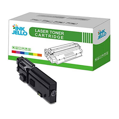 InkJello Remanufatured Toner Cartridge Replacement for Dell C2660dn C2665dnf (Black, Single-Pack)