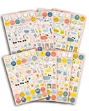 DRAEGER PARIS 1886 500 stickers d'organisation Oh La La, Multicolore, non applicable