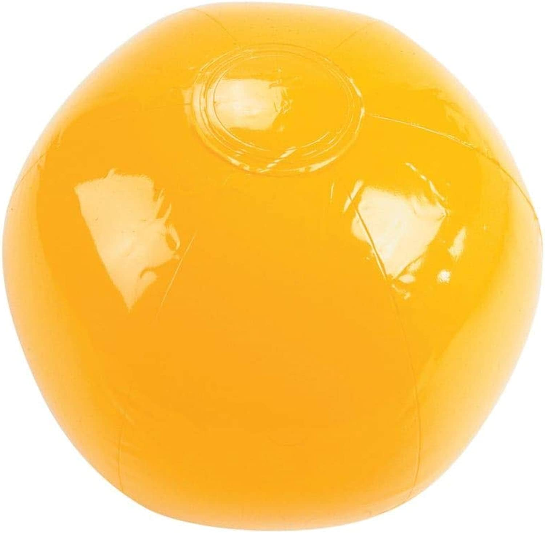 minorista de fitness amarillo BEACH BALL 14 (1 (1 (1 DOZEN) - BULK by Oriental Trading Company  envío gratuito a nivel mundial