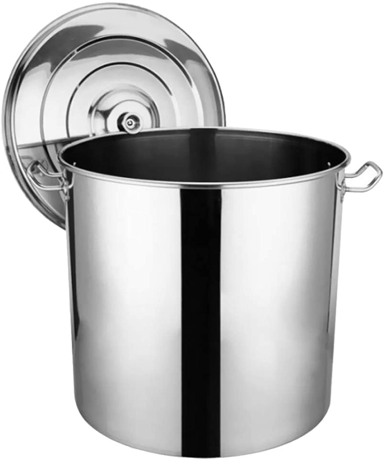 Baosity Camping Stainless Steel Stock Pot Cooking Soup Pot Stew Casserole Boiling