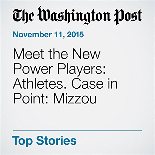 Meet the New Power Players: Athletes. Case in Point: Mizzou cover art
