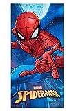 Spider-Man Moon Toalla de Playa Marvel Spider-Man Toalla para niños diseños Diferentes 70 x 140 cm, 100% algodón