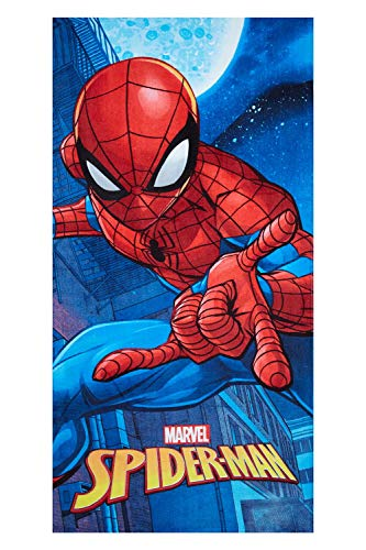 Spider-Man Moon Toalla de Playa Marvel Spider-Man Toalla