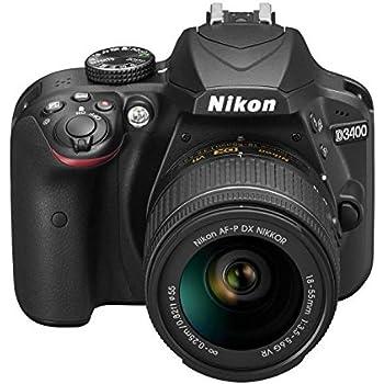 Nikon D3400 + 18-55 AFP DX, Cámara réflex digital de 24,2 Mp ...
