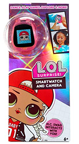 L.O.L. Surprise! Smartwatch and Camera for Kids w/ Cameras, Video, Games, Activities, and More
