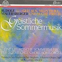 Mauersberger - Sacred Summer Music.