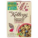 W.K Kellogg Cereali con Mirtilli Rossi, 300g
