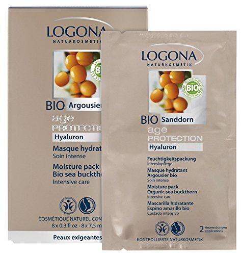 Logona - 12060533 - Soin Anti-Age - Masque Hydratant - 8 x 7,5 ml