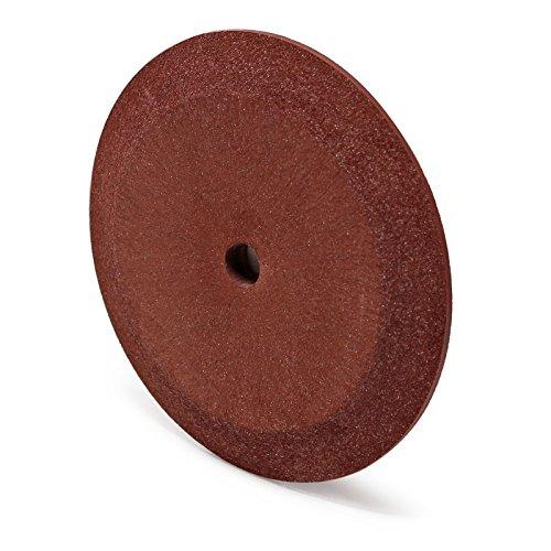 Keramik-Schleifscheibe 105mm/10mm für Sägeblatt-Schärfgerät, keilförmig für kleinere Sägezähne