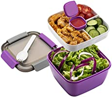 Freshmage Salad Lunch Container