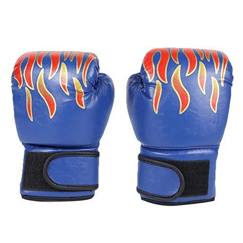 Everpert 2pcs Kinder Boxhandschuhe mit Klettschluss Klein Box-Handschuhe für Kinder von 3-2 Jahre Training Gloves (Blau)