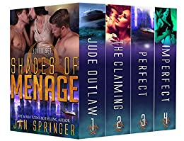 Shades of Menage: A Ménage Romance Box Set Series: Ultimate Four-Book Collection (Jan Springer Boxed Sets 2) by [Jan Springer]