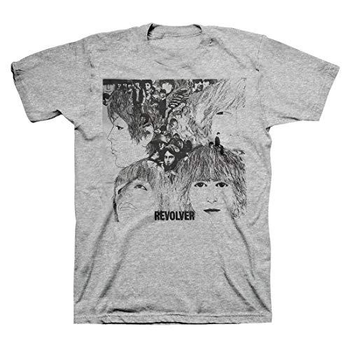Skyey Herren The Beatles Revolver Album Cover Kurzarm T-Shirt