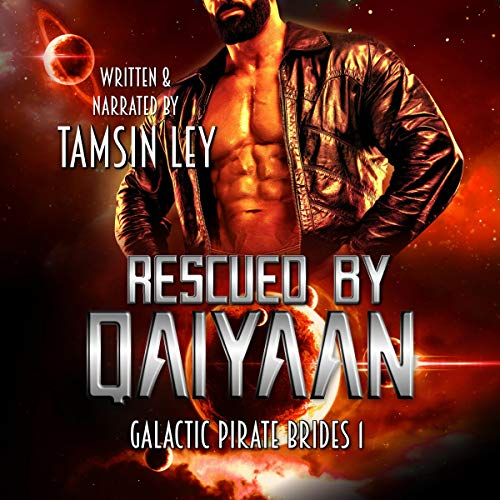 Rescued by Qaiyaan (A Futuristic Alien Fantasy Romance) audiobook cover art