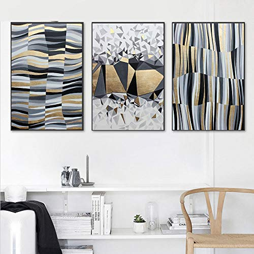 Nordic Triptych muurschildering moderne minimalistische woonkamer decoratieve bank achtergrond muurschildering slaapkamer restaurant abstracte persoonlijkheid kunst schilderij riem foto frame 50x75cm meubels decoratie home d