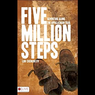 Five Million Steps audiobook cover art