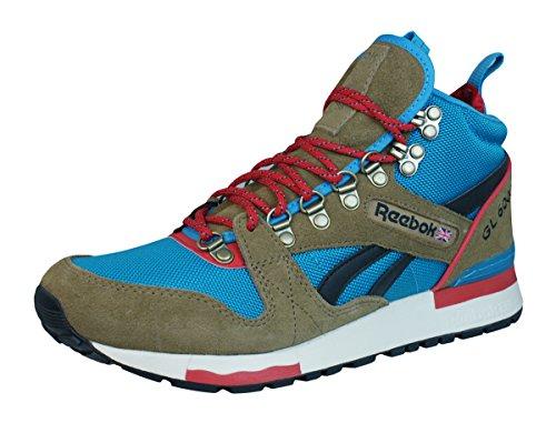 Reebok GL 6000 Mid Thatch Blue Red Sneaker US4,5/EU35