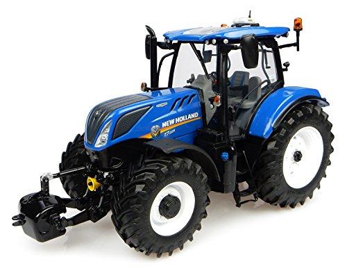Universal Hobbies - UH4893 - Tracteur - New Holland T7 225 - Echelle 1/32 - Bleu