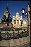 078010 Lutheran Cathedral Helsinki A4 Photo Poster Print