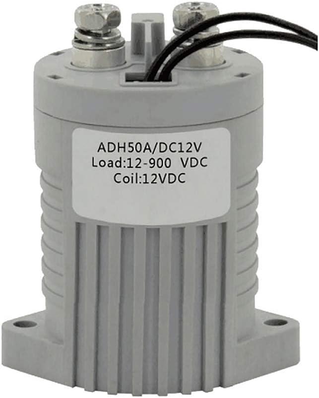 ATO 50A 100A High Voltage DC coil O 12V Max 68% OFF Product 24V Contactor Normally