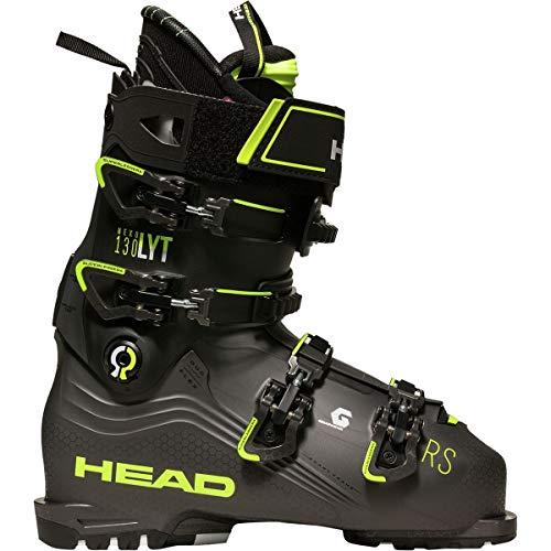 HEAD Nexo LYT 130 RS skischoenen antraciet/geel - heren - grijs