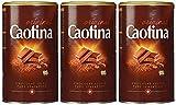 Caotina original, Cacao en Polvo de Chocolate Suizo, Bebida de Chocolate Caliente, Pack Triple, 3 x 500 g