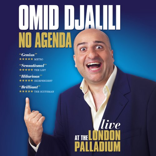 Omid Djalili Live: No Agenda audiobook cover art