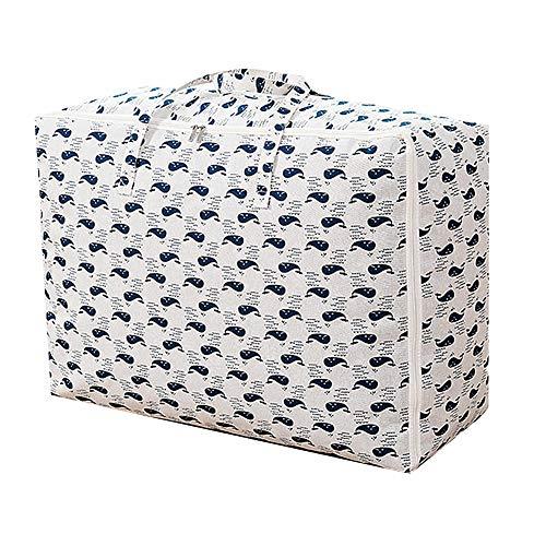 DC CLOUD Cajas almacenaje Ropa Cajas almacenaje Ropa de Almacenamiento de Bolsas De Almacenamiento de Ropa Edredón Bolsas de Almacenamiento 4,55 * 30 * 20cm