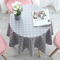 テーブルカバーコットンリネン上質おしゃれテーブルクロス四季用テーブルカバー (Color : B, Size : 180cm(70In))