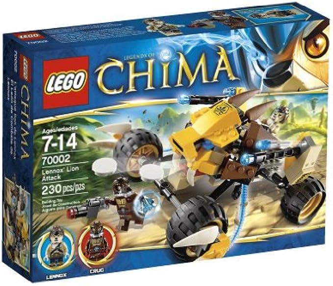 LEGO צ'ימה 70002 מתקפת האריה של לנוקס