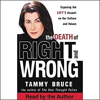 The Death of Right and Wrong audiobook cover art