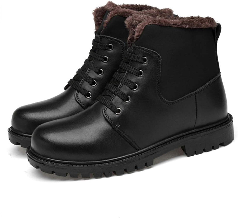 Men's Bootswork Boots Trainers shoes Martin Outdoor Cotton Plus Velvet