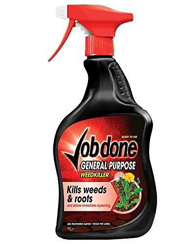 Joba Done 86600006 - Mata de Malas Hierbas RTU, Color Negro, 1 L