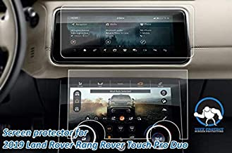 Tuff Protect Clear Screen Protectors for 2019 Land Rover Range Rover Sport SVR Touch Pro Duo Navigation Screen