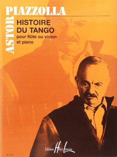 HISTOIRE DU TANGO FLUTE & PIANO