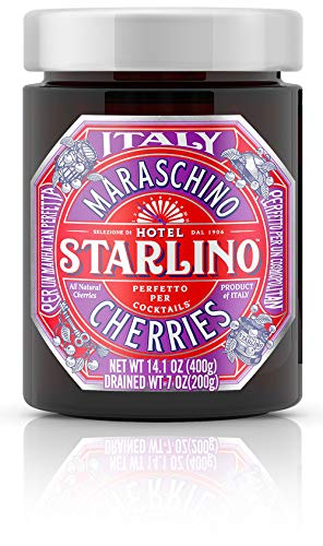 Hotel Starlino Italienische Maraschino Kirschen 1x 400 g Glas