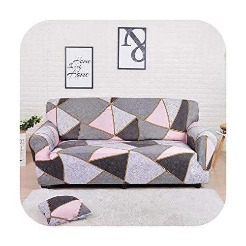 Hopereo - Funda elástica seccional para sofá de sala de estar y sofá en forma de L, funda para sillón de 1/2/3/4 plazas, color 11-2 plazas, 145 a 185 cm