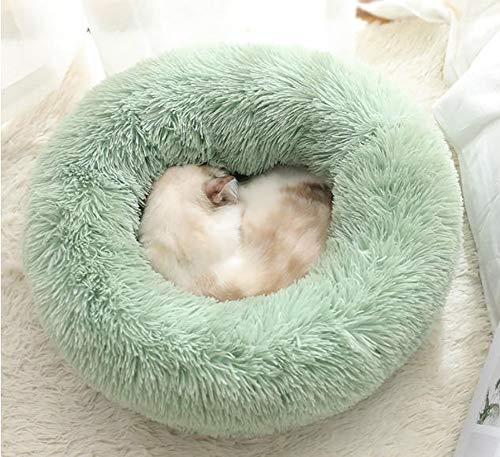 Warme Plüsch Hundebett,Katzenbett,Kuschelkissen für Hunde und Katzen, weich,waschbar,Hundekissen Haustierbett für Katzen und kleine bis mittelgroße Hunde