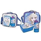 Cerdá, Portameriendas Termico con Botella Infantil y Tupper Frozen 2-Licencia Oficial Disney...