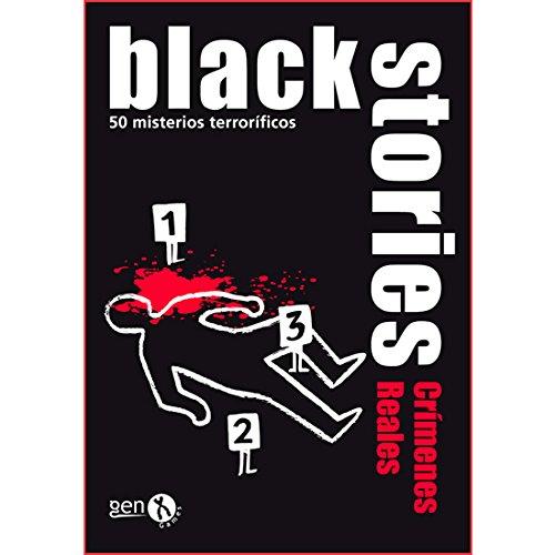 Black Stories - Crímenes Reales, Juego de Mesa (Gen-X Games GEN020): Amazon.es: Juguetes y juegos